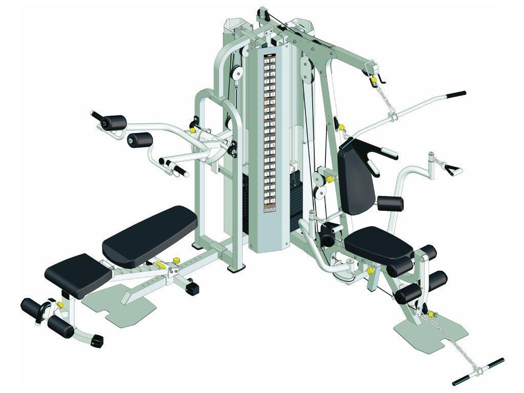 Healthstream 2060 Multi Gym (Twin Stack)