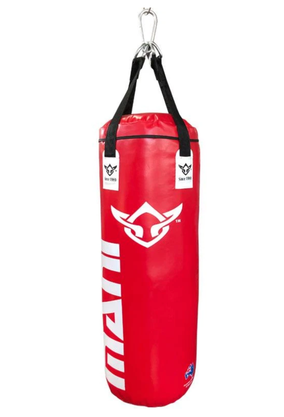 Punching Bag Filled 3Ft Deluxe Heavy Red