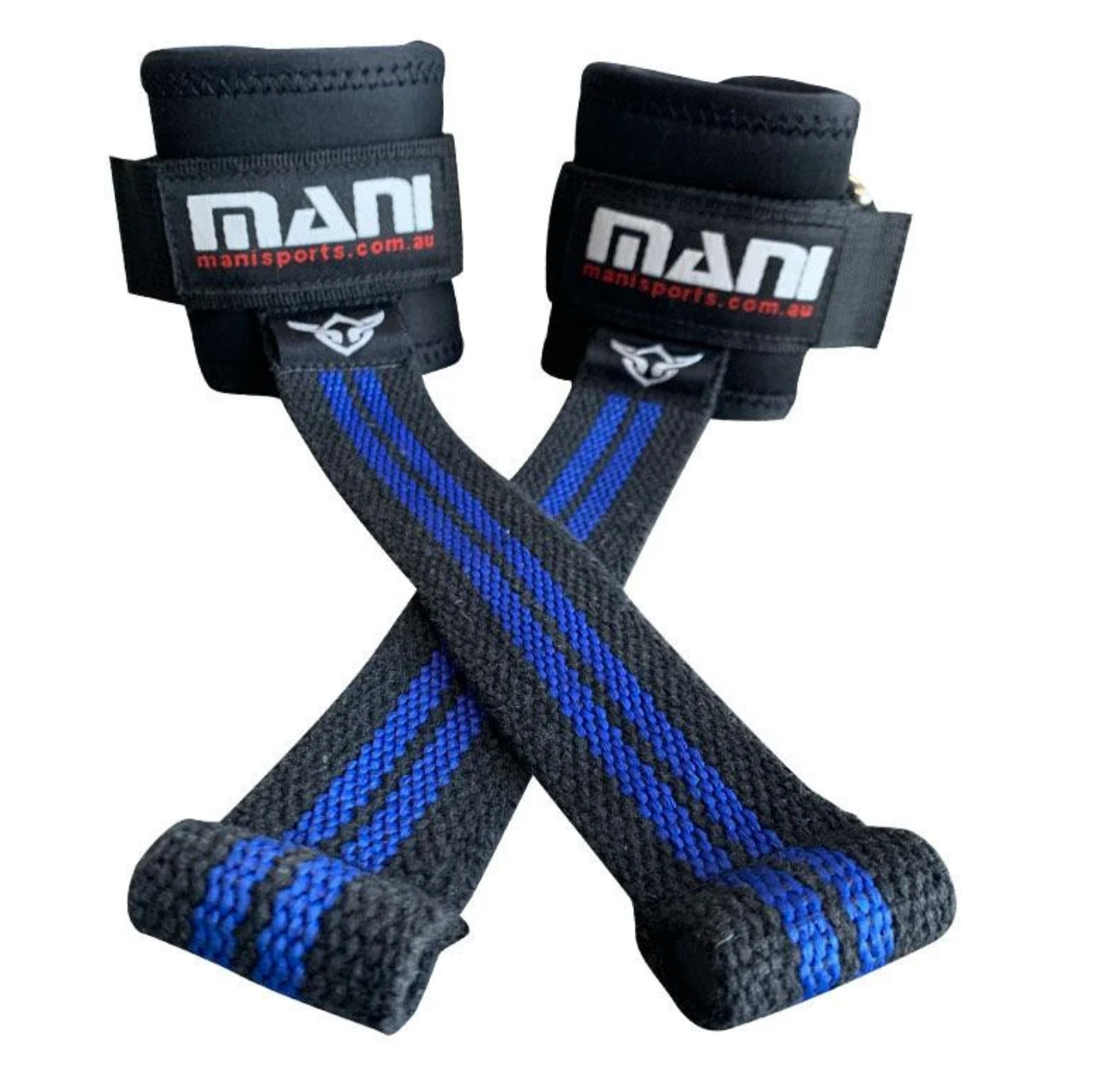 Power Lifting Straps with Rubber Tip