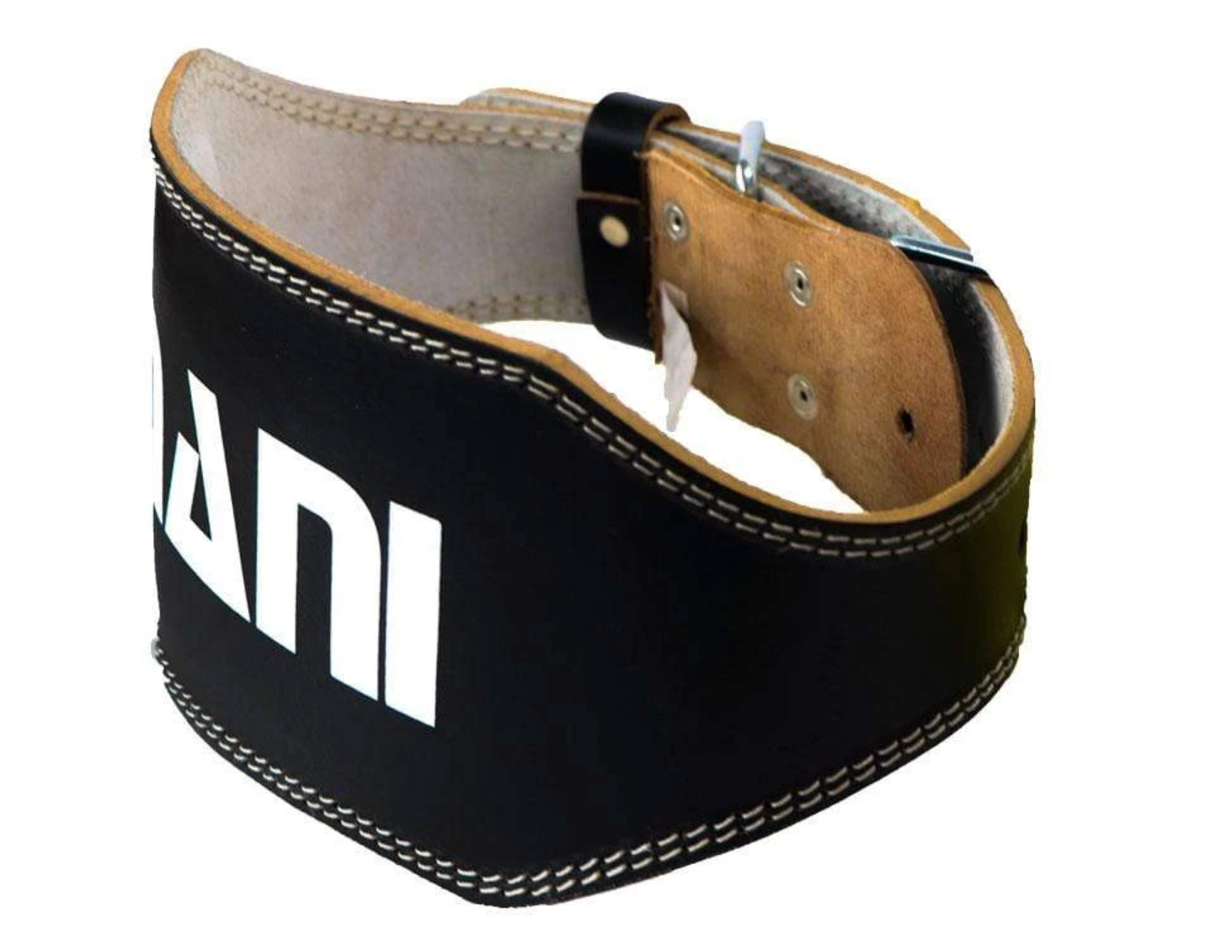 Leather 6″ Weight lifting Belt Deluxe