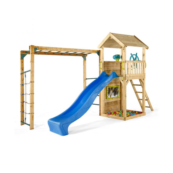 Plum Lookout Tower Play Centre with Monkey Bars