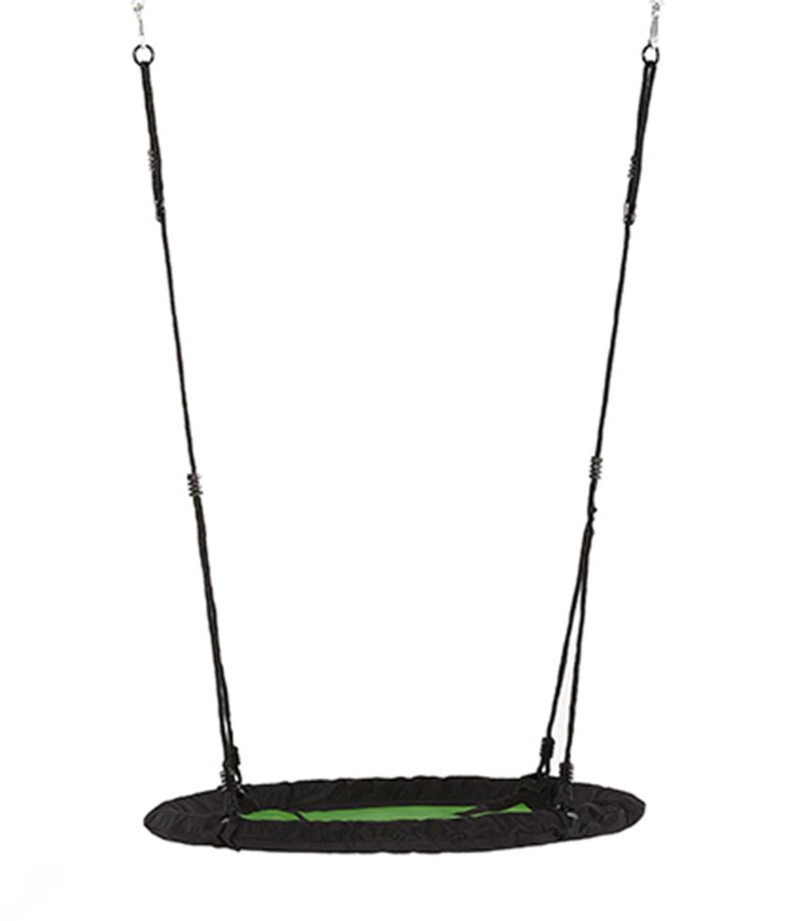 NEST SWING WITH LIME HANGERS