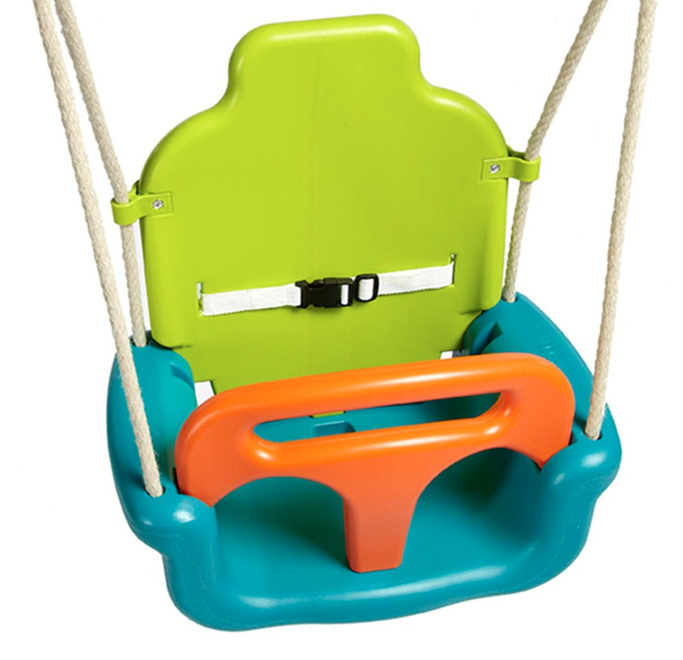 3-in-1 Growing Baby Swing Seat with Lime Hangers