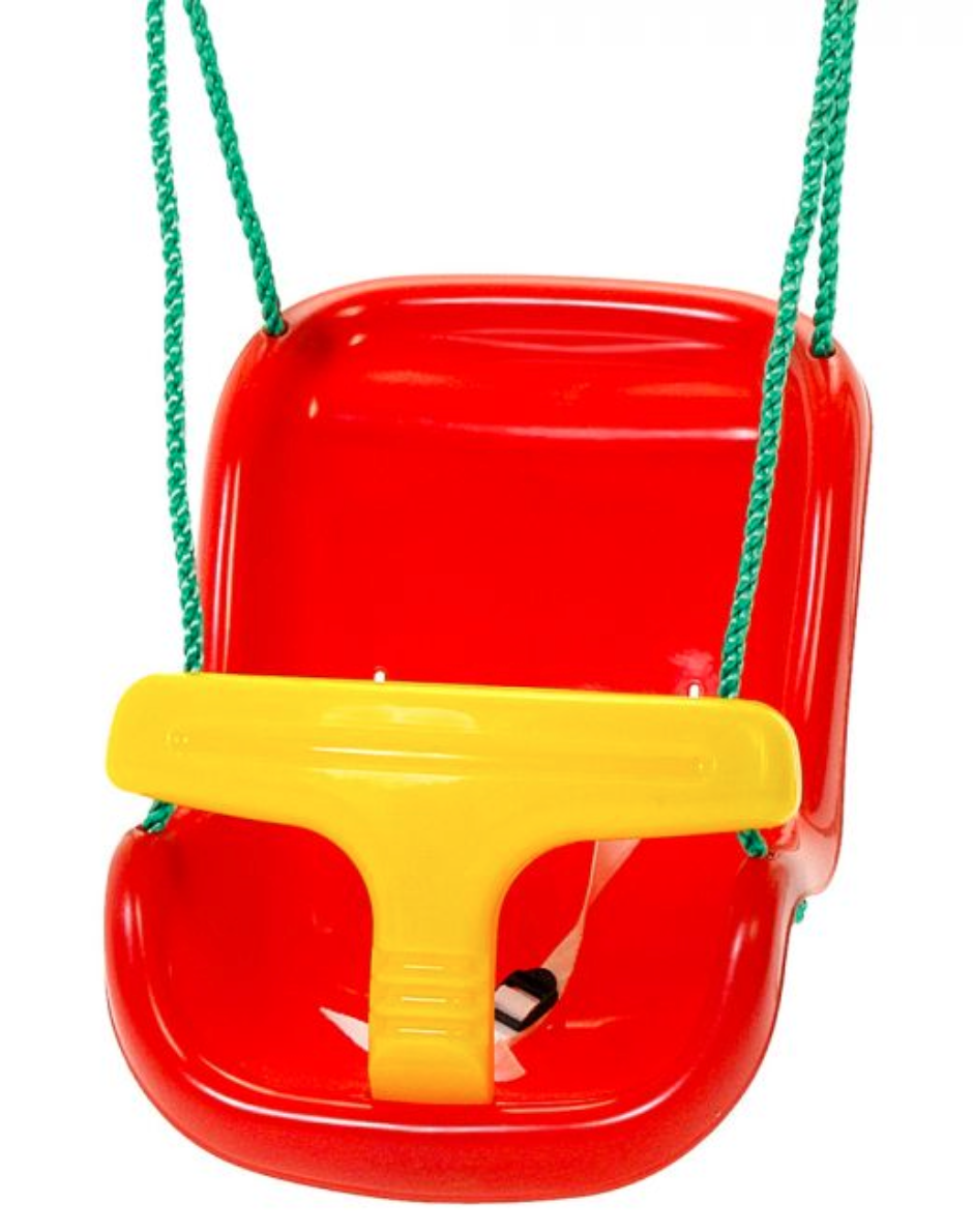 Plum Baby Swing Seat – Red with Extension