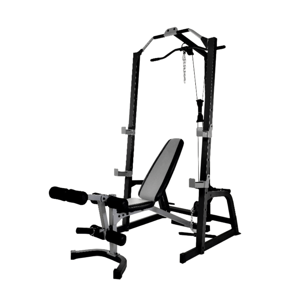 Johnson Squat Cage and bench